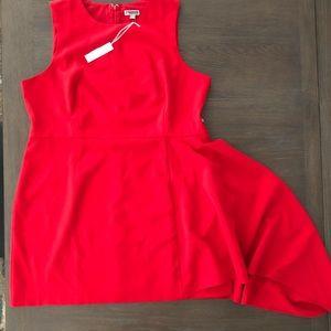 ♦️Chelsea 28 Red Asymmetrical Sleeveless Dress